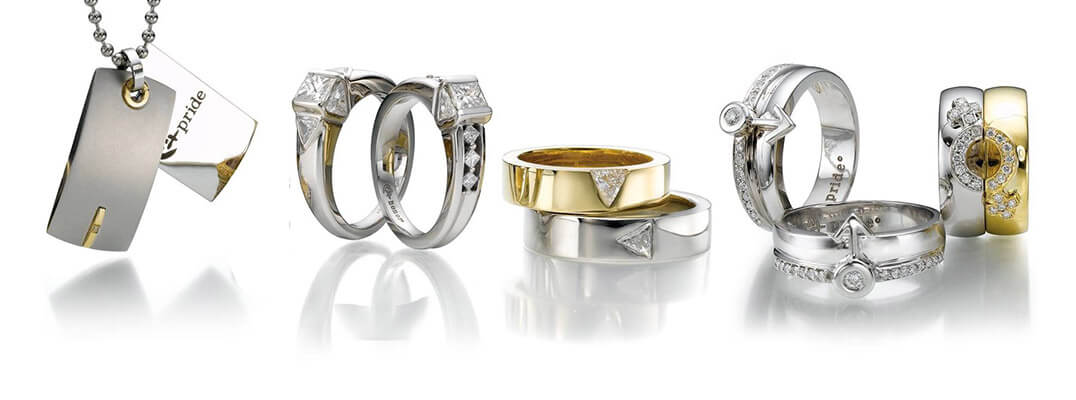 Civil Partnership and LGBT+ Weddng Rings