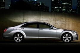 Mercedes S Class Chauffeurs Car