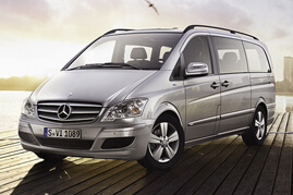 Mercedes Chauffeurs Car Viano