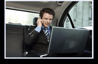 Chauffeur Driven Businessman