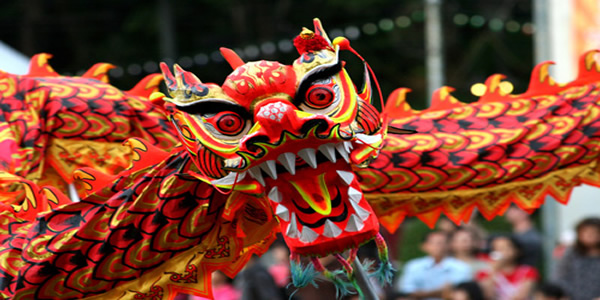 Chinese Year of the Dragon London 2012