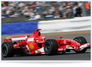 Ferrari at British Grand Prix