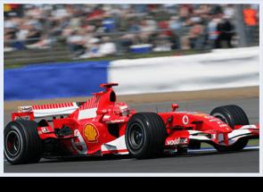 Ferrari at British Grand Prix
