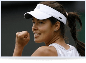 Ana Ivanovic The Beauty