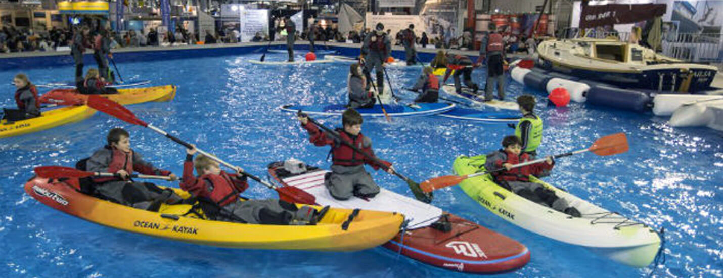 Indoor Boating Lake at the ExCeL