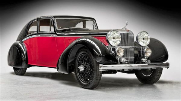 1935 Alvis Bertelli Sports Coupe Classic Car