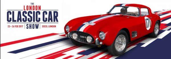 The London Classic Car Show 2017