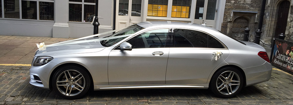 Mercedes S Class Wedding Car Hire