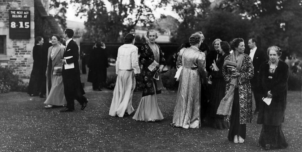 Glyndebourne Opera Audience 1939