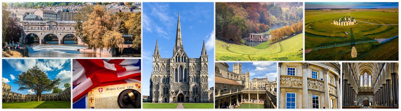 Bath, Stonehenge and Salisbury Cathedral sights
