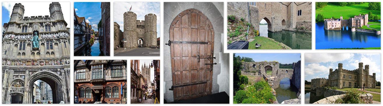 Canterbury and Leeds Castle sights