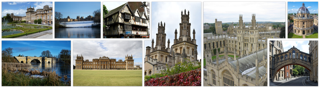 Oxford and Blenheim Palace sights