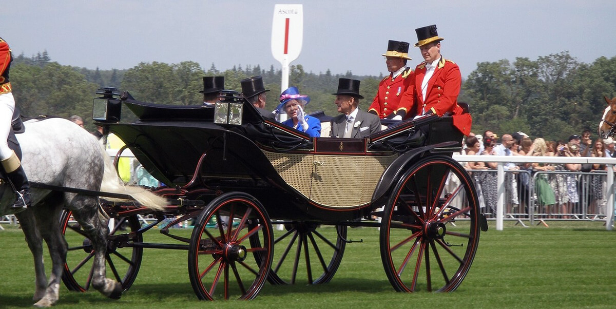 Royal Ascot - The Queen's arrival